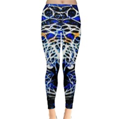 Officially Sexy Blue Panther Collection Winter Leggings