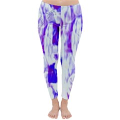 Officially Sexy Candy Collection Purple Winter Leggings