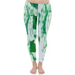 Officially Sexy Candy Collection Green Winter Leggings