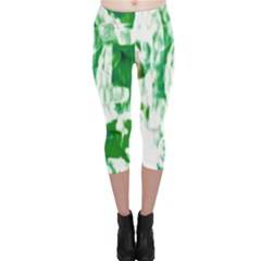 Officially Sexy Green Candy Collection Capri Leggings