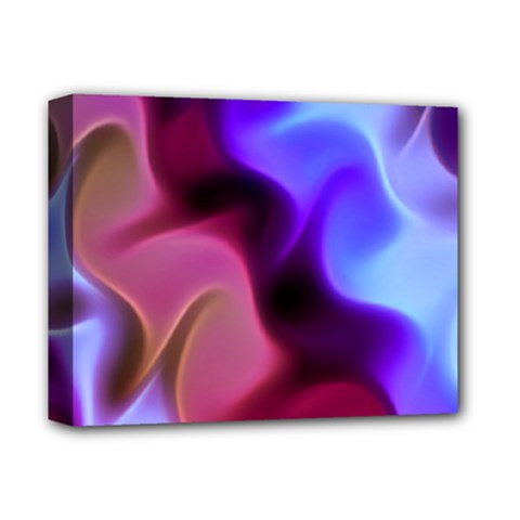 Rippling Satin Deluxe Canvas 14  X 11  (framed)