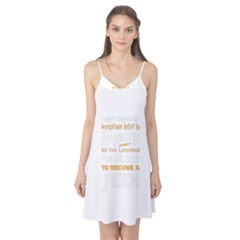 Howarts Letter Camis Nightgown