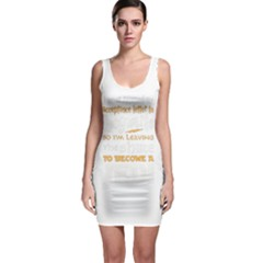 Howarts Letter Bodycon Dress