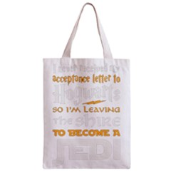 Howarts Letter Classic Tote Bag