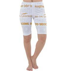 Howarts Letter Cropped Leggings
