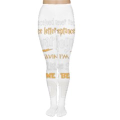 Howarts Letter Tights