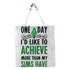 Sims Grocery Tote Bag