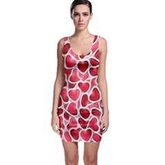 Candy Hearts Bodycon Dress