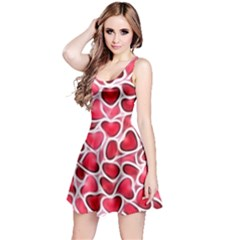 Candy Hearts Reversible Sleeveless Dress