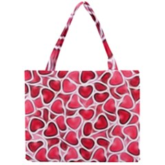 Candy Hearts Tiny Tote Bag