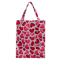 Candy Hearts Classic Tote Bag