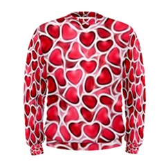 Candy Hearts Men s Sweatshirt