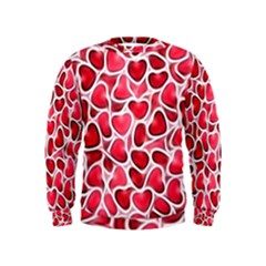 Candy Hearts Kid s Sweatshirt
