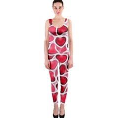 Candy Hearts OnePiece Catsuit