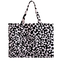 Black and White Blots Tiny Tote Bag