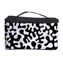 Black and White Blots Cosmetic Storage Case