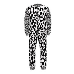 Black and White Blots OnePiece Jumpsuit (Kids)