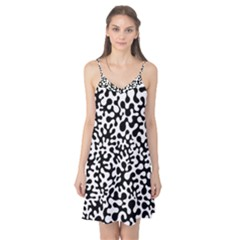Black And White Blots Camis Nightgown