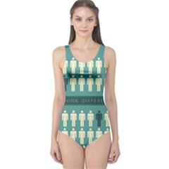 Think Different One Piece Swimsuit
