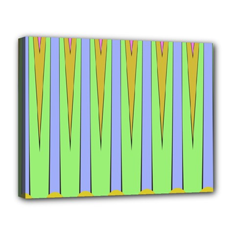 Spikes Canvas 14  X 11  (stretched)