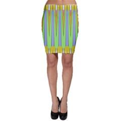 Spikes Bodycon Skirt
