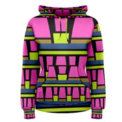 Trapeze and stripes Pullover Hoodie