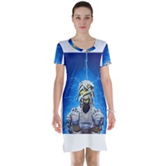 Cowcow Short Sleeve Nightdress