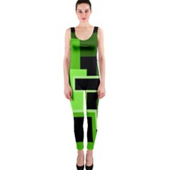 green OnePiece Catsuit