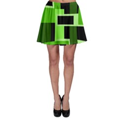 green Skater Skirt
