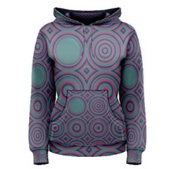 Concentric circles pattern Pullover Hoodie