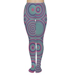 Concentric circles pattern Tights