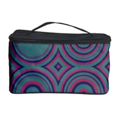 Concentric circles pattern Cosmetic Storage Case