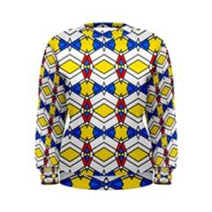 Colorful rhombus chains Sweatshirt