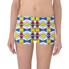 Colorful rhombus chains Boyleg Bikini Bottoms