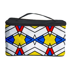 Colorful rhombus chains Cosmetic Storage Case