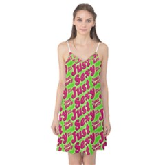 Just Sexy Quote Typographic Pattern Camis Nightgown