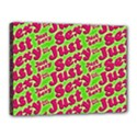 Just Sexy Quote Typographic Pattern Canvas 16  x 12  View1