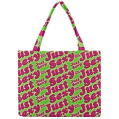 Just Sexy Quote Typographic Pattern Tiny Tote Bags