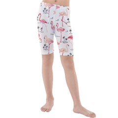 Flamingo Pattern Kid s Swimwear
