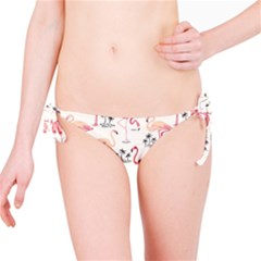 Flamingo Pattern Bikini Bottoms