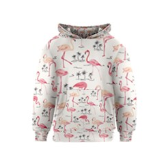 Flamingo Pattern Kid s Pullover Hoodies