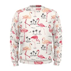 Flamingo Pattern Men s Sweatshirts