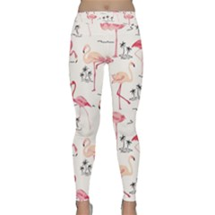 Flamingo Pattern Yoga Leggings