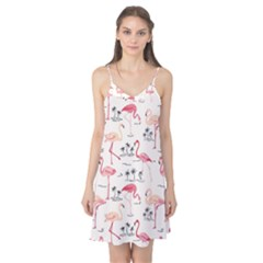 Flamingo Pattern Camis Nightgown