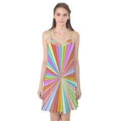 Colorful beams Camis Nightgown