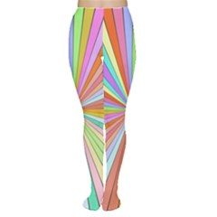 Colorful beams Tights