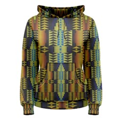Triangles and other shapes pattern Pullover Hoodie