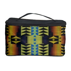 Triangles and other shapes pattern Cosmetic Storage Case