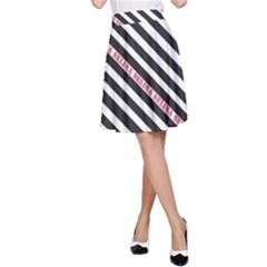 Selina Zebra A Line Skirts
