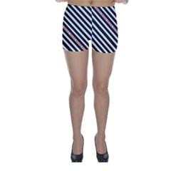Selina Zebra Skinny Shorts
